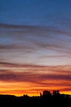 Sunset over Tulelake, California. - Photo #27274