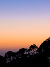 Colorful sunset sky at Point Reyes. - Photo #25675
