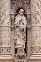 Statue of Father Antonio de la Ascencion. Museum of Man, Balboa Park, San Diego. - Photo #25775