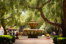 Fountain at Mission San Diego de Alcala. - Photo #26275