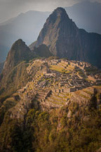 Huayna Picchu is the mountain that towers above Machu Picchu. - Photo #9875