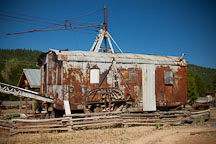Monighan dragline. Sumpter, Oregon. - Photo #27675