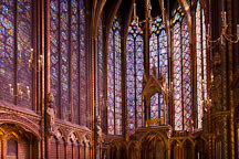 Sainte Chapelle. Paris, France. - Photo #31475