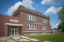 The Saunders school now serves as the Henry County Heritage Center. Mount Pleasant, Iowa - Photo #32975