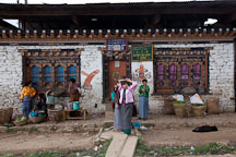 General shop in Nobding, Bhutan. - Photo #23676