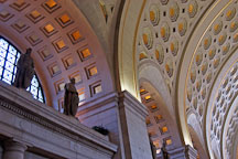 Interior of Union Station. Washington, D.C., USA. - Photo #11176