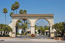 Paramount Studios gate. Los Angeles, California, USA - Photo #7876