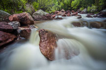 South Boulder Creek in Eldorado Canyon. - Photo #33176