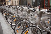 Velib bike rental in Paris, France. - Photo #31576