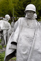 Korean War Veterans Memorial. Washington, D.C., USA. - Photo #10877