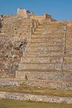 Terraces. Machu Picchu, Peru. - Photo #10077