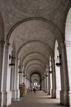 Loggia at Union Station. Washington, D.C. - Photo #1877