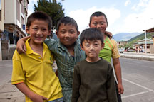Boys in Thimphu, Bhutan. - Photo #22378