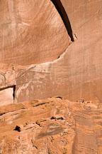 Human and animal figure petroglyphs. Canyon de Chelly NM, Arizona. - Photo #18078