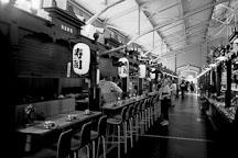 Japanese restaurant in the old market hall, Vanha Kauppahalli. Helsinki, Finland - Photo #3078