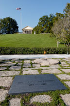 John F. Kennedy gravesite. Arlington National Cemetery. Arlington, Virginia, USA. - Photo #11078