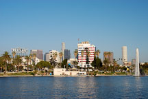 MacArthur Park. Los Angeles, California, USA. - Photo #7978