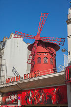 Moulin rouge in Montmartre. Paris, France. - Photo #31878