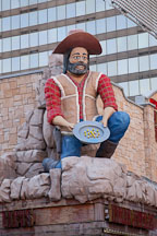 Prospector statue at the Fremont Street Experience. Las Vegas, Nevada. - Photo #19978