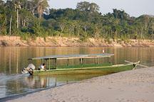 Boat. Madre de Dios river, Amazon, Peru. - Photo #8978