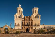 Mission San Xavier Del Bac, Tucson Arizona. - Photo #47178