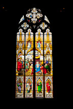 Stained glass window. Cologne Cathedral, Germany. - Photo #30778