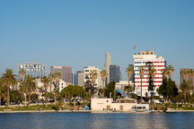 MacArthur Park, afternoon. Los Angeles, California, USA. - Photo #7979