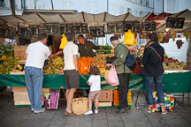 Fresh fruit and vegetables at the Marche de la Bastille. Paris, France. - Photo #31179