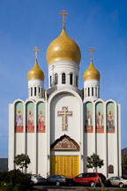 Russian orthodox Cathedral. San Francisco, California. - Photo #24479