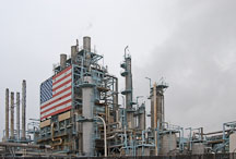 ARCO refinery, Carson, California, USA. - Photo #6914