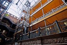 Bradbury building. Los Angeles, California, USA. - Photo #6521