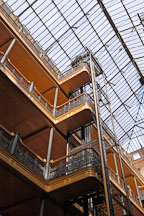 Bradbury building. Los Angeles, California, USA. - Photo #6524