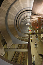 Hollywood and Highland metro station. Los Angeles, California, USA. - Photo #6448