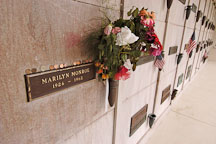 Grave of Marilyn Monroe. Hollywood Memorial Park Cemetery. Los Angeles, California, USA. - Photo #6603
