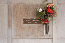 Grave of Marilyn Monroe. Hollywood Memorial Park Cemetery. Los Angeles, California, USA. - Photo #6614