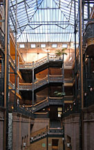Bradbury building. Los Angeles, California, USA. - Photo #6525