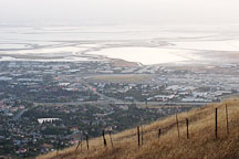 View of the East Bay. Mission Peak, Fremont, California, USA. - Photo #6334
