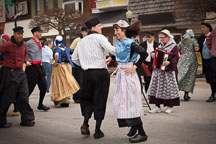 Dutch dancers in Pella, Iowa. - Photo #32508