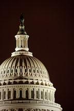 The great rotunda of the U.S. Capitol. Washington, D.C., USA. - Photo #11008