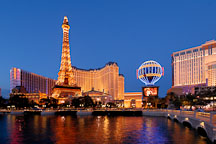 Paris Las Vegas hotel. Las Vegas, Nevada, USA. - Photo #13308