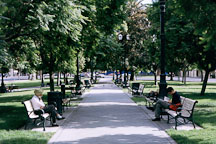 Plaza park. San Jose, California. - Photo #608