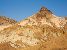 Sheep Rock Unit, John Day Fossil Beds, Oregon. - Photo #27808