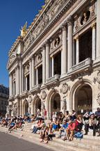 Steps to the Palais Garnier. Paris, France. - Photo #31908