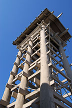 Yagura tower. Japantown, Los Angeles, California, USA. - Photo #6508