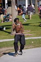 Rollerskater. Venice, California, USA. - Photo #8680