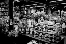 Boutique in the old market hall, Vanha Kauppahalli. Helsinki, Finland. - Photo #3080