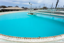 Clarifier tanks in water treatment help remove settled minerals such as iron and reduce water hardness. - Photo #32480