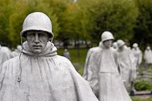 Korean War Veterans Memorial. Washington, D.C., USA. - Photo #10880
