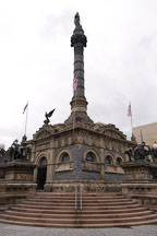 Soldier's and Sailor's monument. Cleveland, Ohio, USA. - Photo #4180