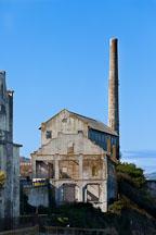 Utility buildings on Alcatraz island. - Photo #28880